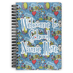 Welcome to School Spiral Bound Notebook (Personalized)