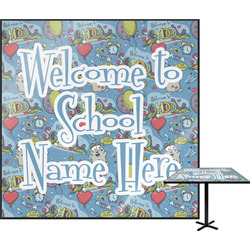 Welcome to School Square Table Top (Personalized)