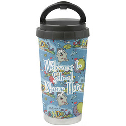 Welcome to School Stainless Steel Coffee Tumbler (Personalized)