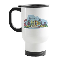 Welcome to School Stainless Steel Travel Mug with Handle