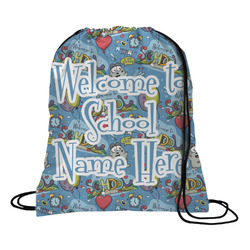 Welcome to School Drawstring Backpack (Personalized)