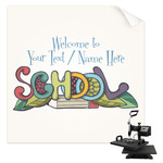 Welcome to School Sublimation Transfer (Personalized)
