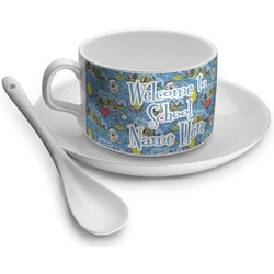 Welcome to School Tea Cups (Personalized)