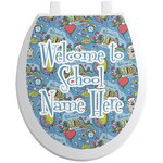 Welcome to School Toilet Seat Decal (Personalized)