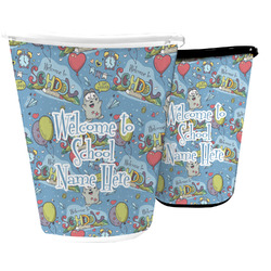 Welcome to School Waste Basket (Personalized)