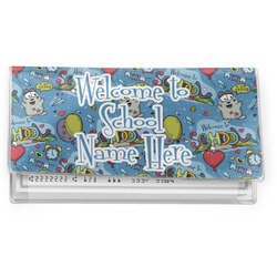 Welcome to School Vinyl Checkbook Cover (Personalized)