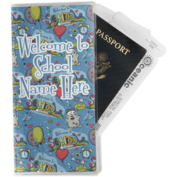 Welcome to School Travel Document Holder