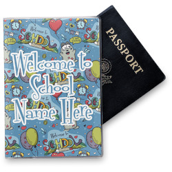 Welcome to School Vinyl Passport Holder (Personalized)