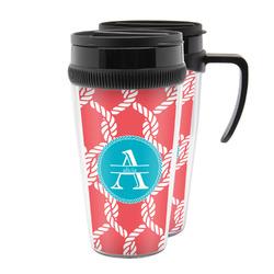 Linked Rope Acrylic Travel Mugs (Personalized)