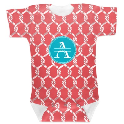 Linked Rope Baby Bodysuit (Personalized)