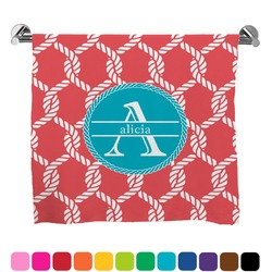Linked Rope Full Print Bath Towel (Personalized)