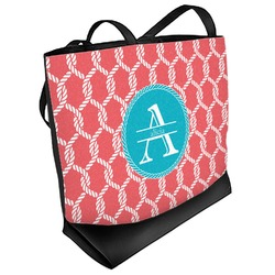 Linked Rope Beach Tote Bag (Personalized)