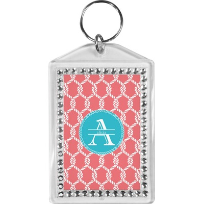 Linked Rope Bling Keychain (Personalized)