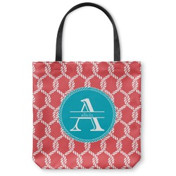 Linked Rope Canvas Tote Bag (Personalized)