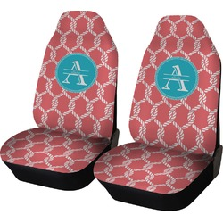 Linked Rope Car Seat Covers (Set of Two) (Personalized)