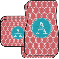 Linked Rope Car Floor Mats (Personalized)