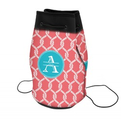 Linked Rope Neoprene Drawstring Backpack (Personalized)