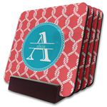 Linked Rope Coaster Set w/ Stand (Personalized)