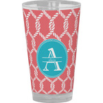 Linked Rope Drinking / Pint Glass (Personalized)