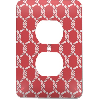 Linked Rope Electric Outlet Plate (Personalized)