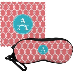 Linked Rope Eyeglass Case & Cloth (Personalized)