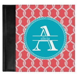 Linked Rope Genuine Leather Baby Memory Book (Personalized)