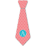 Linked Rope Iron On Tie - 4 Sizes w/ Name and Initial
