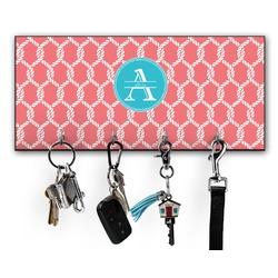 Linked Rope Key Hanger w/ 4 Hooks (Personalized)