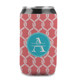 Linked Rope Can Sleeve (12 oz) (Personalized)