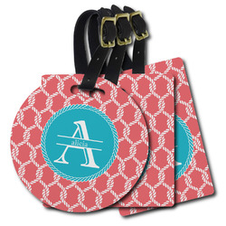 Linked Rope Plastic Luggage Tags (Personalized)