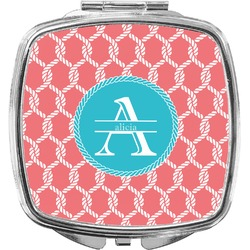 Linked Rope Compact Makeup Mirror (Personalized)