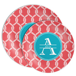 Linked Rope Melamine Plate (Personalized)