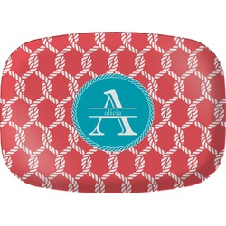 Linked Rope Melamine Platter (Personalized)
