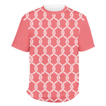 Linked Rope Men's Crew T-Shirt (Personalized)