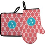 Linked Rope Oven Mitt & Pot Holder (Personalized)