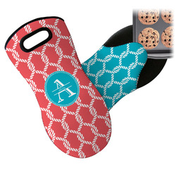 Linked Rope Neoprene Oven Mitt (Personalized)