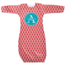 Linked Rope Newborn Gown (Personalized)