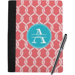 Linked Rope Notebook Padfolio (Personalized)