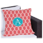 Linked Rope Outdoor Pillow (Personalized)