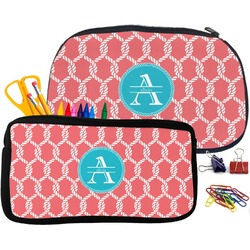Linked Rope Neoprene Pencil Case (Personalized)
