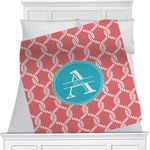Linked Rope Minky Blanket (Personalized)