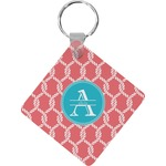 Linked Rope Diamond Key Chain (Personalized)