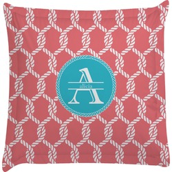Linked Rope Euro Sham Pillow Case (Personalized)