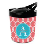 Linked Rope Plastic Ice Bucket (Personalized)