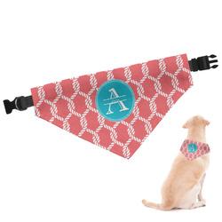 Linked Rope Dog Bandana (Personalized)