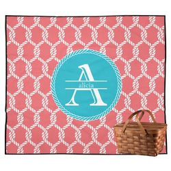 Linked Rope Outdoor Picnic Blanket (Personalized)