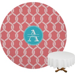 Linked Rope Round Tablecloth (Personalized)