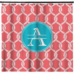 Linked Rope Shower Curtain (Personalized)
