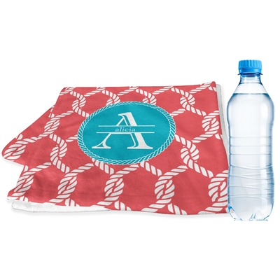 Linked Rope Sports & Fitness Towel (Personalized)