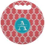 Linked Rope Stadium Cushion (Round) (Personalized)